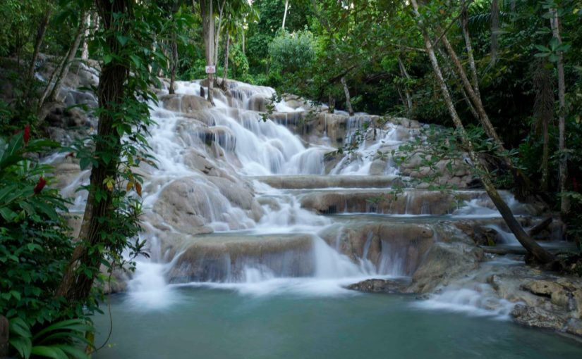 Dunn's River falls picture